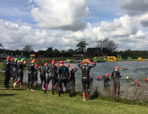 Group Open Water Swimming